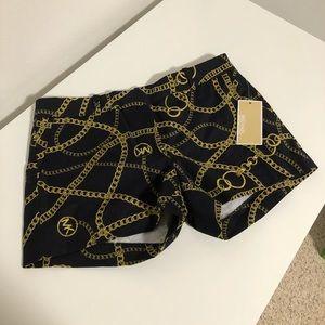 Michael Kors Chain Design Shorts